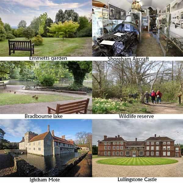 Sevenoaks and dorking attractions