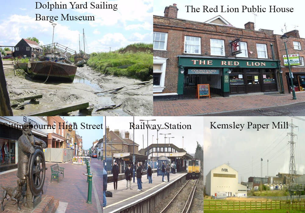 top 5 tourist attractions of sittingbourne