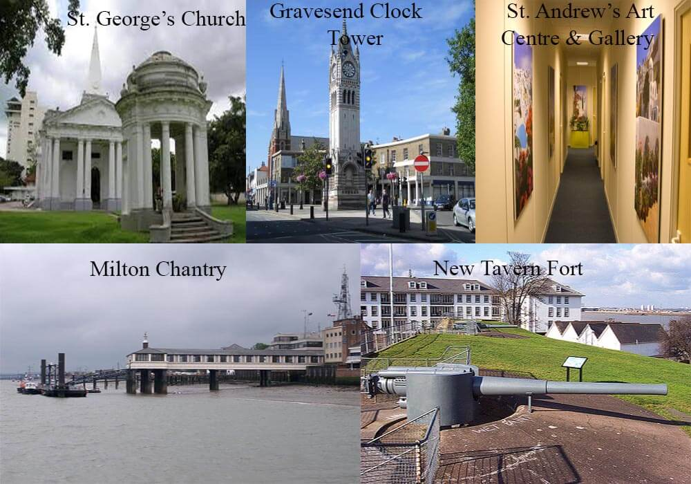 gravesend top 5 tourist attractions